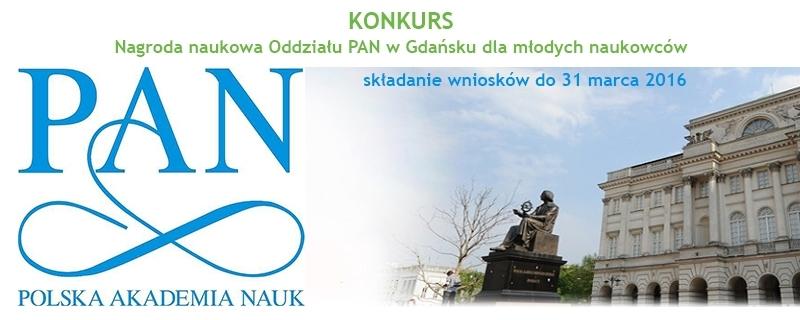 Nagroda PAN dla młodych naukowców - KONKURS