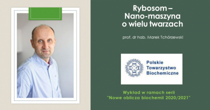 Polskie Towarzystwo Biochemiczne wykład